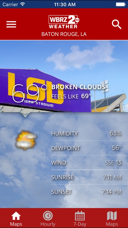 WBRZ Weather screenshot-0