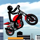 Stickman Motorcycle 3D icon