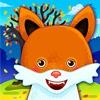 搞笑动物!教育游戏儿童及婴儿。