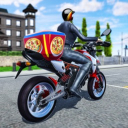 Moto Pizza Delivery Boy 3D