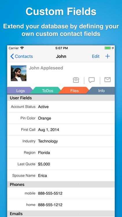 Contacts Journal CRM screenshot-4