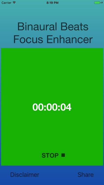 Binaural Beats Focus Enhancer