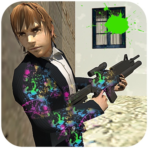 Paintball shooting arena fps iOS App