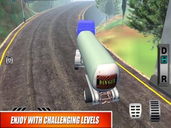 Truck Oil Climb Hill Mission screenshot 4