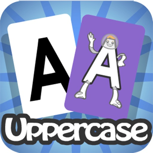 Meet the Letters Flashcards – Uppercase iOS App