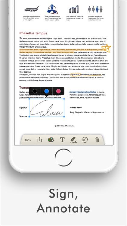 Doc Scan - Fax PDF Scanner screenshot-6