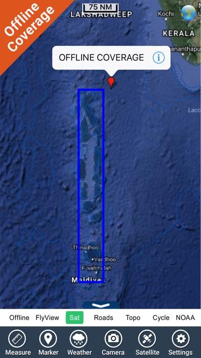 Maldives GPS Map NavigatorCaptura de pantalla de5