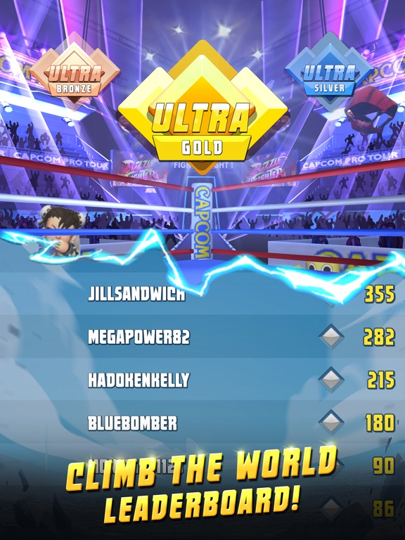 Puzzle Fighter screenshot #3