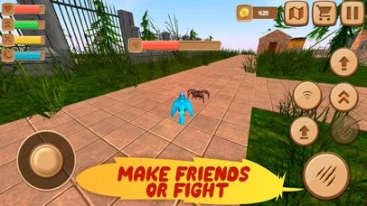 Home Pet Parrot Simulator Screenshot on iOS