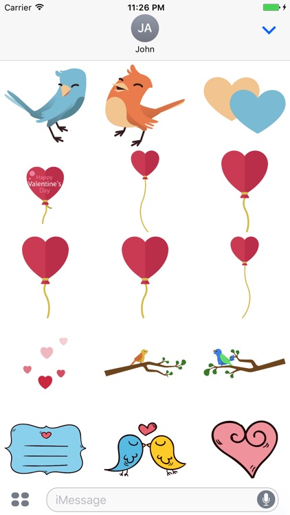 Happy Valentine Day - Stickers
