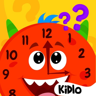 Telling Time Games For Kids ios app