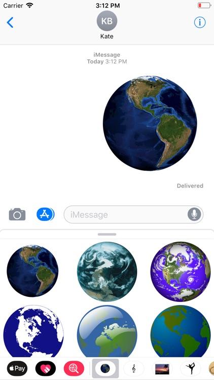 Planet Earth Sticker Pack screenshot-5