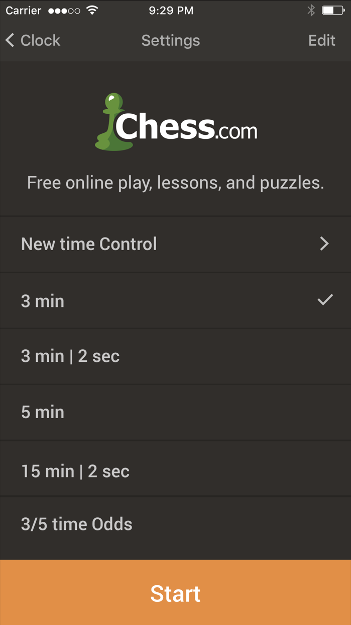 Chess Clock by Chess.com Screenshot