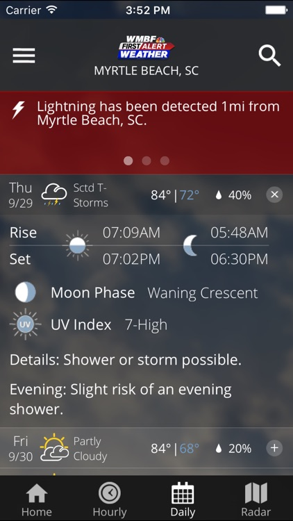 WMBF First Alert Weather screenshot-3