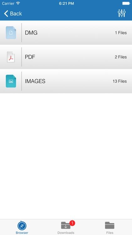 Downloader Pro - Multitab Browser & Downloader screenshot-4