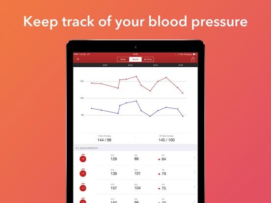 Blood Pressure Assistant Screenshots