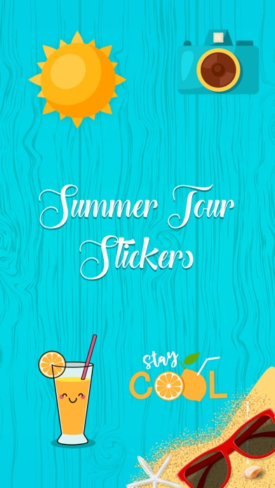 download Stylish Summer Stickers apps 2