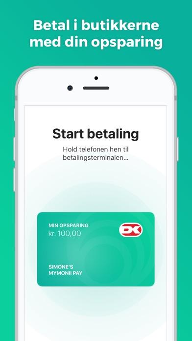 Screenshot for MyMonii - Lommepenge in Denmark App Store