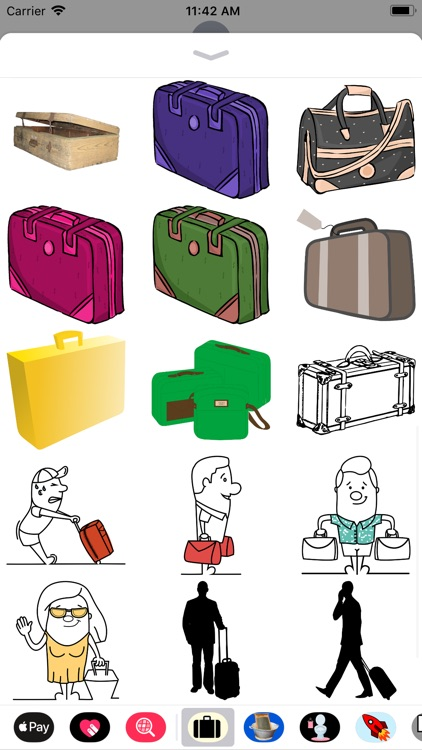Luggage Stickers