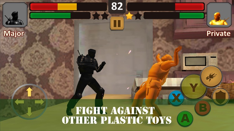 Toy Army Fighting Combat