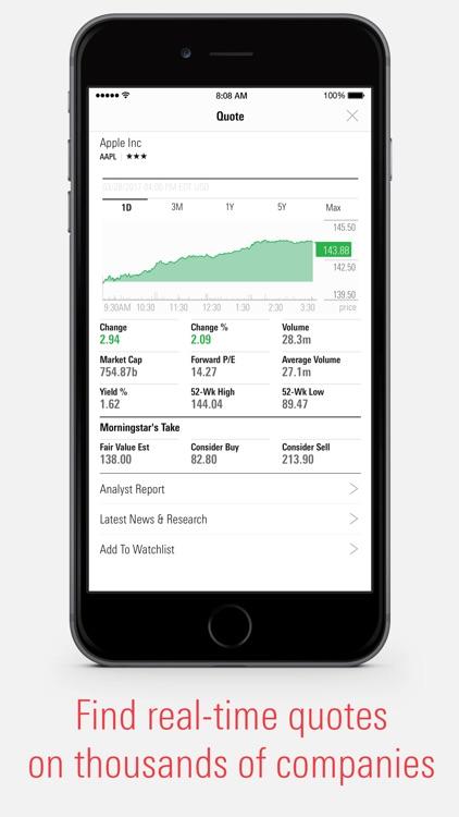 Morningstar for Investors