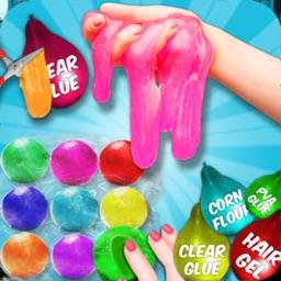 Clay Ball & Balloon Slime Game