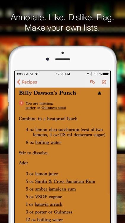 Wondrich's Index of Punch
