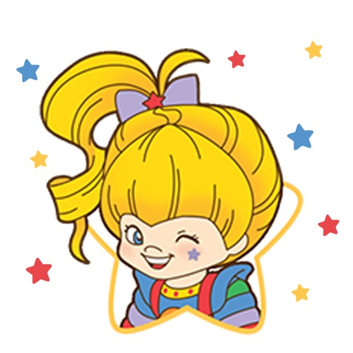 Rainbow Brite Stickers
