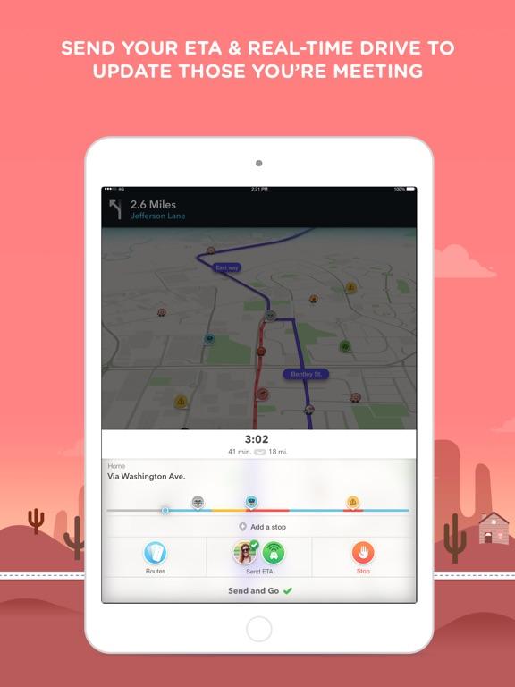 Screenshot #4 for Waze Navigation & Live Traffic