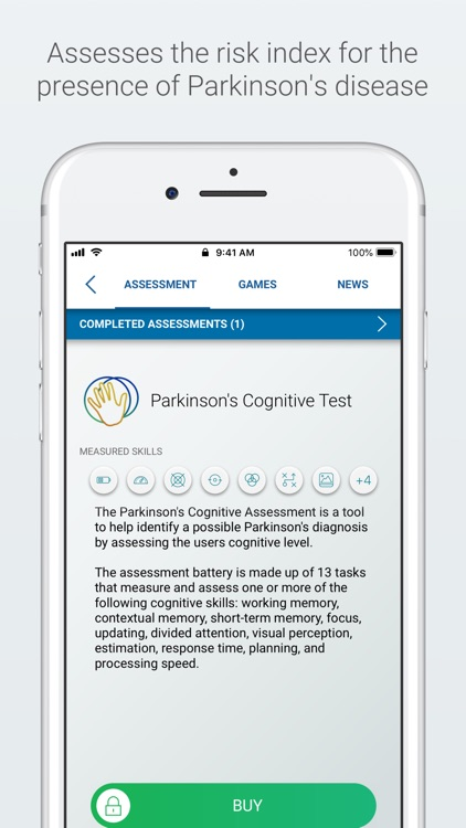 Parkinson Test and Training