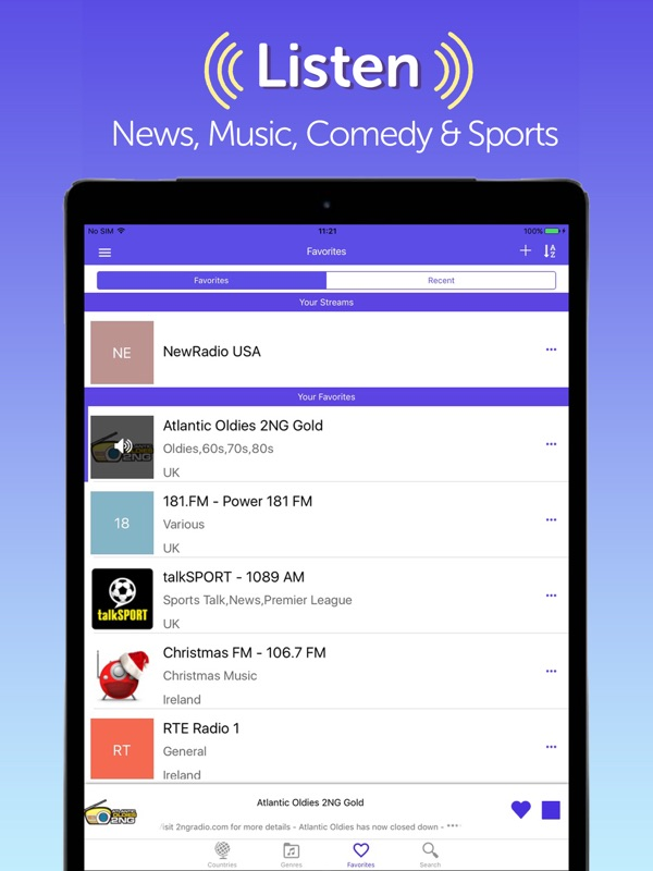 Radio FM: Music, News & Sports - Online Game Hack and Cheat
