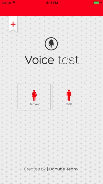 Voice Test screenshot-0