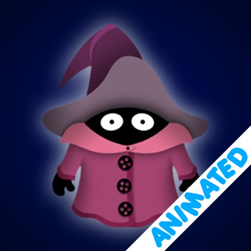 Cute Little Wizard (animated)