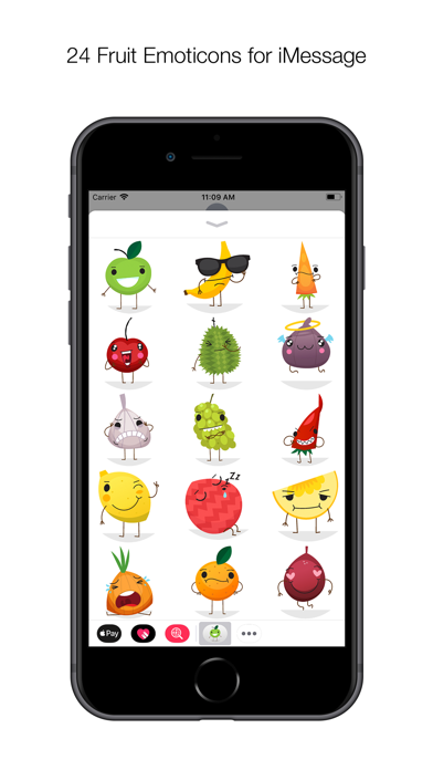 24 Fruitmoji screenshot one