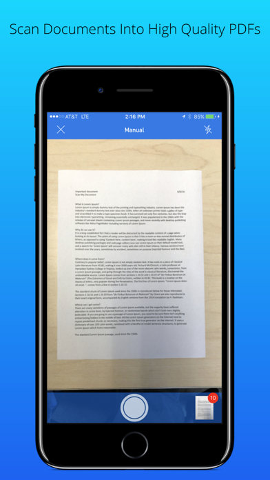 Scan My Document - PDF Scanner | App Price Drops
