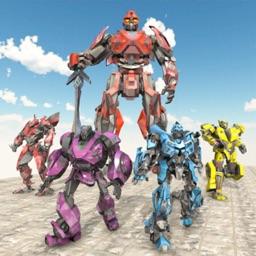 Mega Robot War - Robot Car 3D