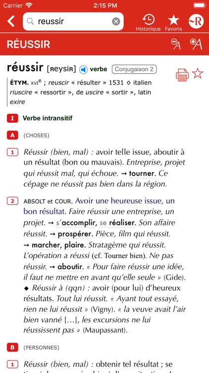 Dictionnaire Le Petit Robert screenshot-3