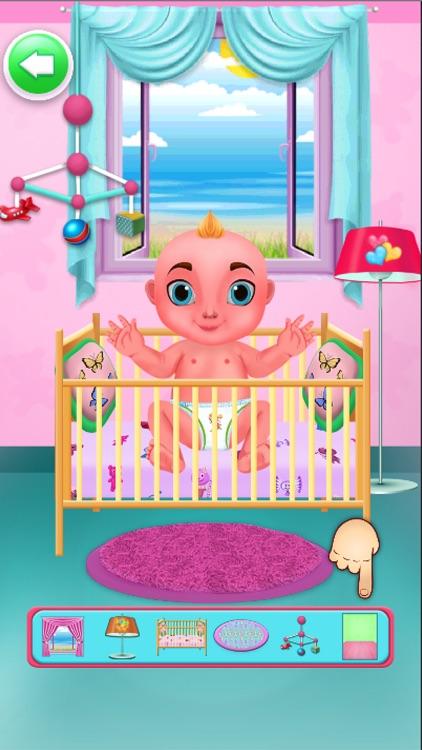Mommy Newborns Baby Care Games