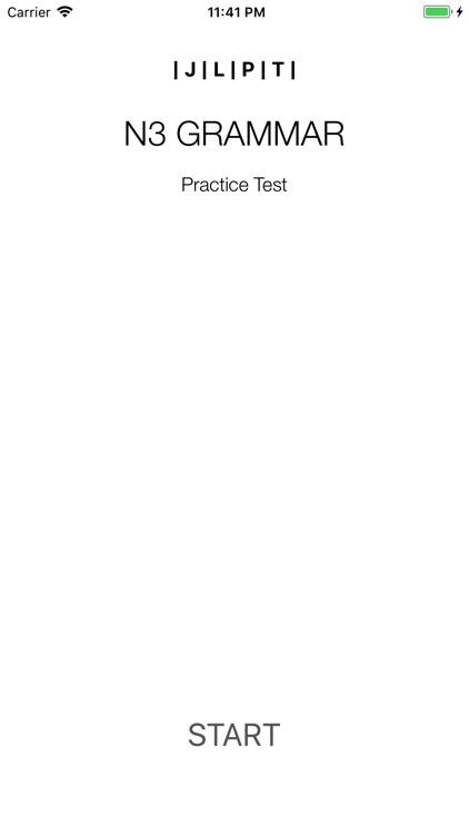 JLPT N3 Grammar Test iPhone by Khue Khong