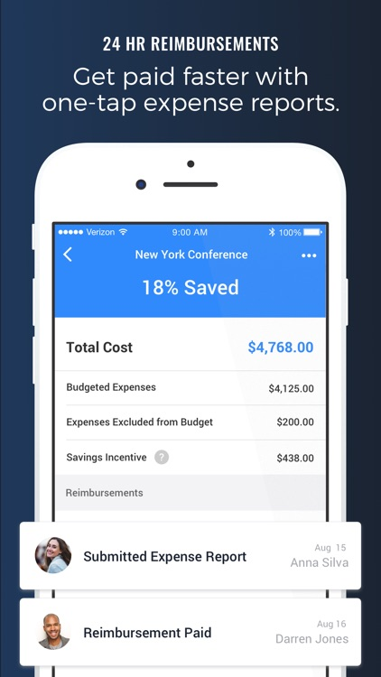 TravelBank - Travel & Expense screenshot-4