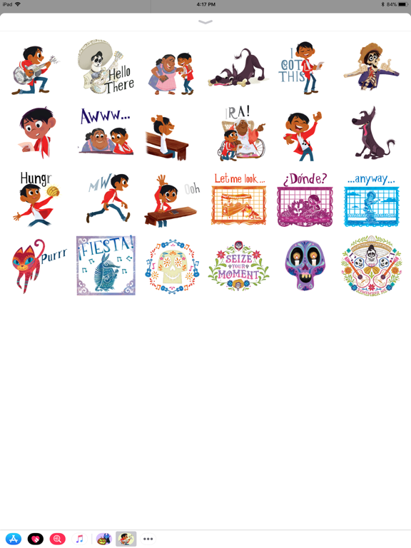 Pixar Stickers: Coco screenshot 6