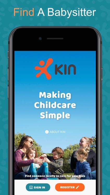 Kin App - Book a Babysitter