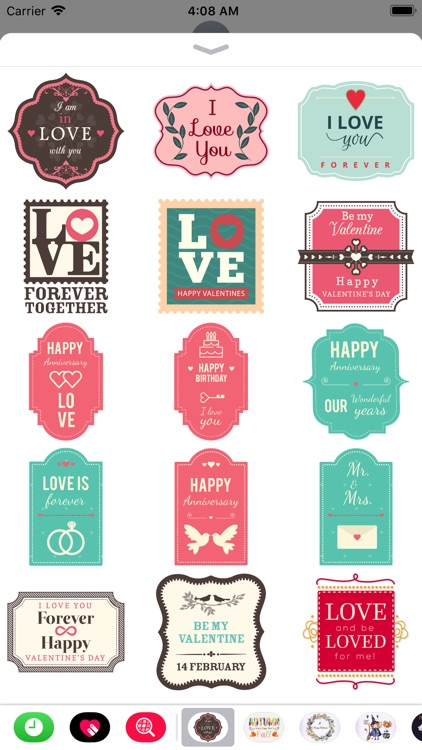 Lovely & Sweet Stickers Set