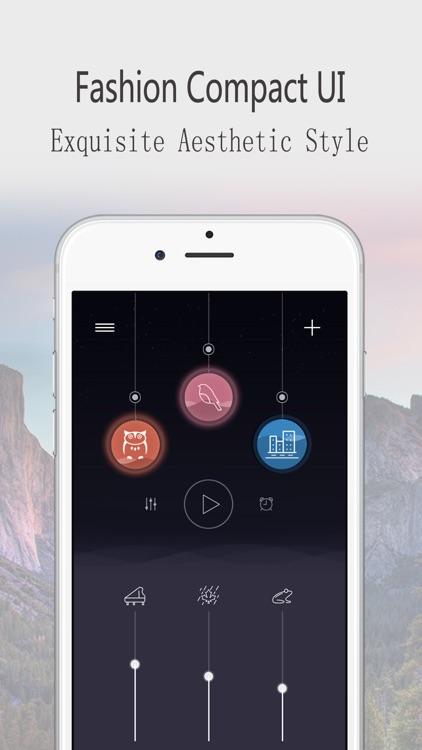 Sleep sounds:Relax Melodies screenshot-3