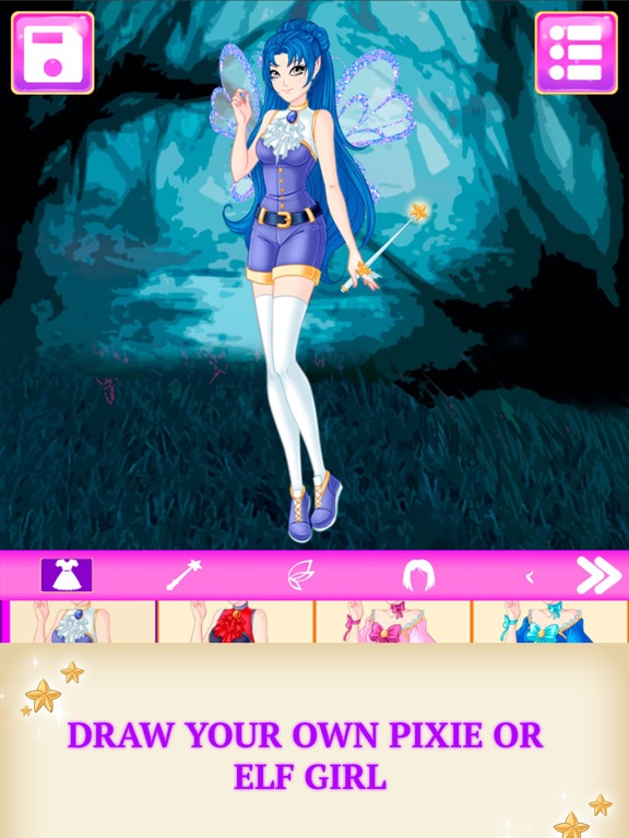Elf Avatar Creator Game-ipad-0