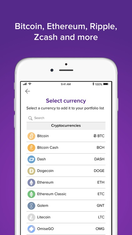 Abra: Bitcoin, Ripple, LTC screenshot-1