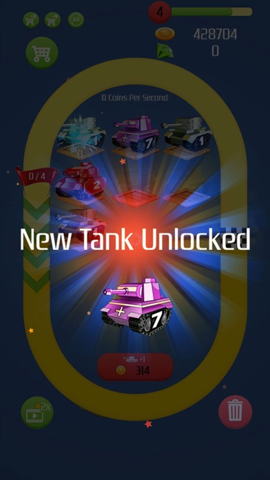 Tank Merger - Idle Hero