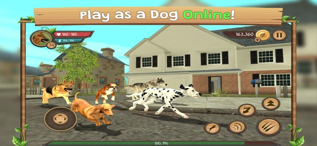 dog sim online hacked account
