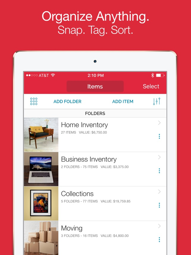 sortly inventory simplified on the app store