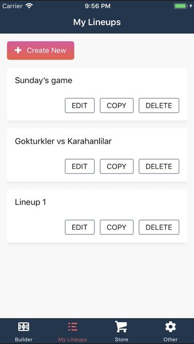 Screenshot for Build Lineup in Kazakhstan App Store